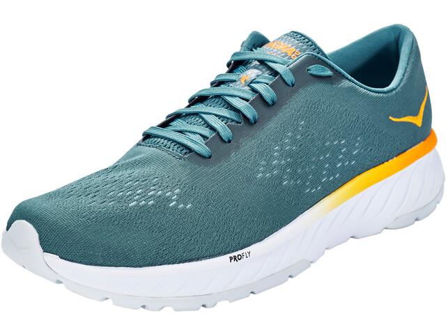 Hoka One One Cavu 2 Running Shoes Herren corsair blue/bright marigold
